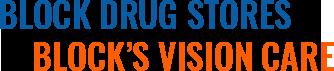 Block Drug Stores, Block's Vision Care, Footer Logo